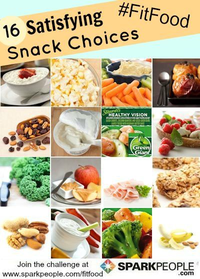 Revive snack time with these filling, healthy and low-calorie ideas! | via @SparkPeople #food #diet #nutrition #FitFood #recipe
