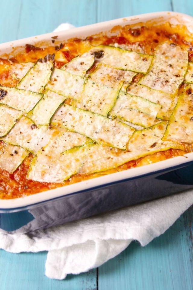 Zucchini Lattice Lasagna