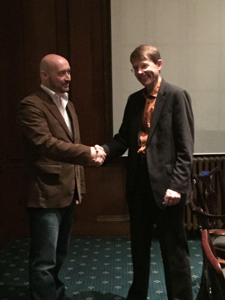 David J. Tillyer with Bernie Wales at EPN London http://bit.ly/EPN-London