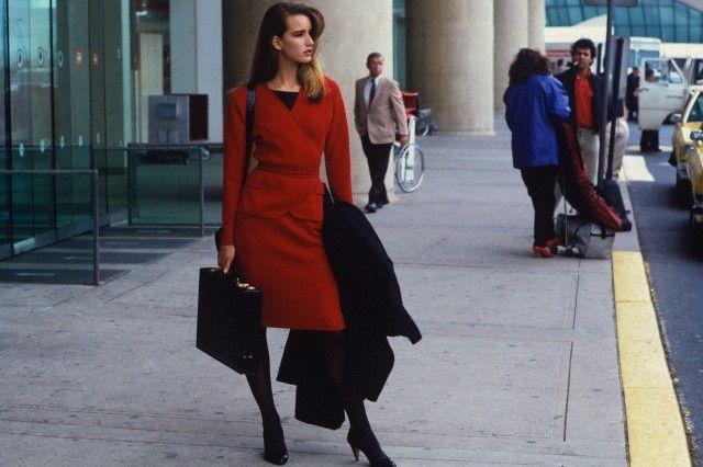 Стиль бизнес-леди 80-х