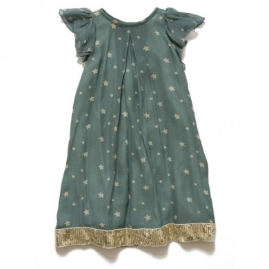 teal star party star dress... just gorgeous!!
