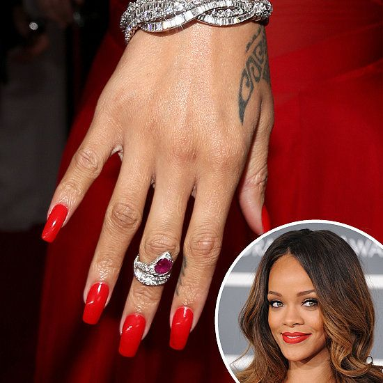 Best color nail polish for red dress