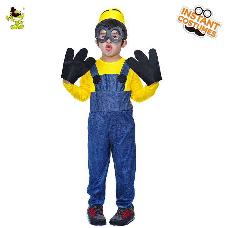>> Click to Buy << Lovely Boys Minions Costumes Despicable Me Mascot fancy dress for boys Halloween Carnival party Performance #Affiliate