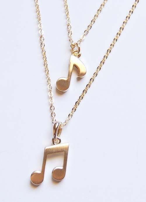music notes necklace                                                                                                                                                                                 More