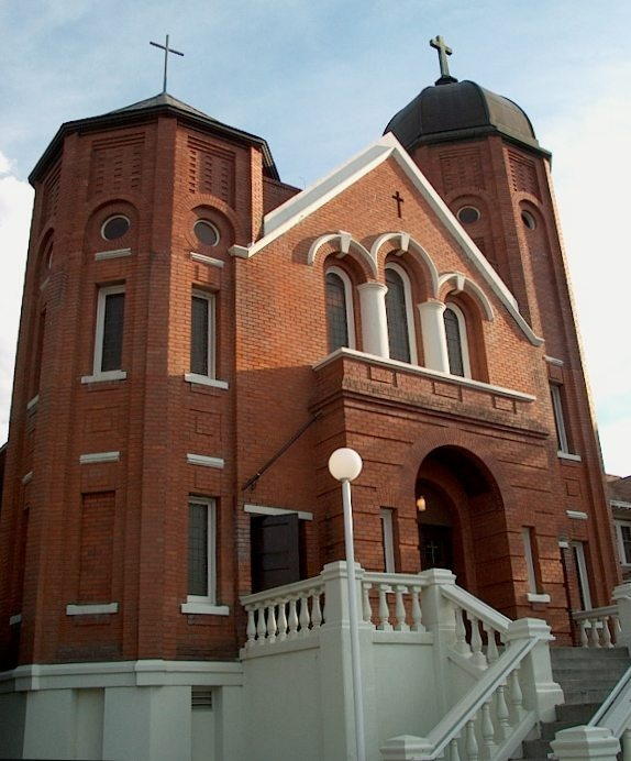 Sacred Heart Cathedral 1921-Kamloops