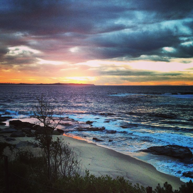 Ocean sunrises