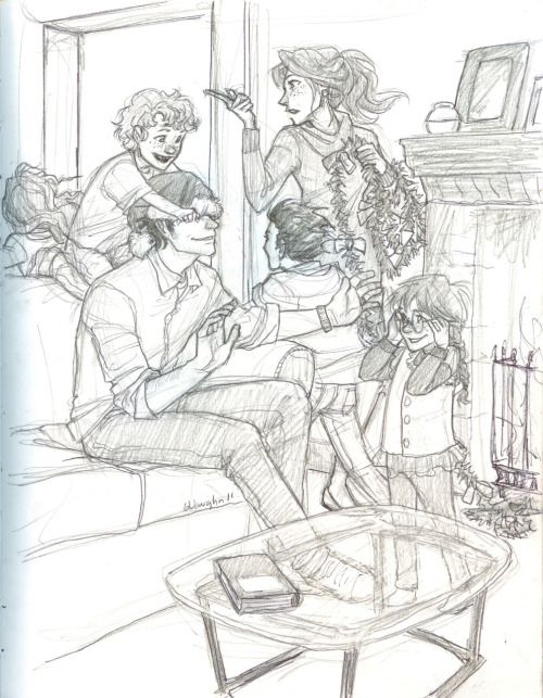 wip of the potters babysitting by burdge