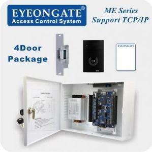 Eyeongate 4 Door Access Control System High Tech