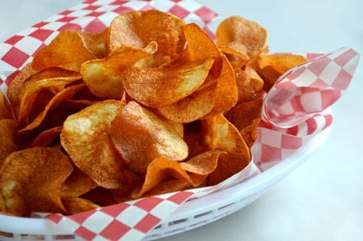 What's not to love about a basket of hot, crispy homemade potato chips? The salty crunch hits a taste and texture homerun. And while the store-bought potato chips are fine in a pinch, I can guarantee you that one handful of the homemade variety will have you hooked.