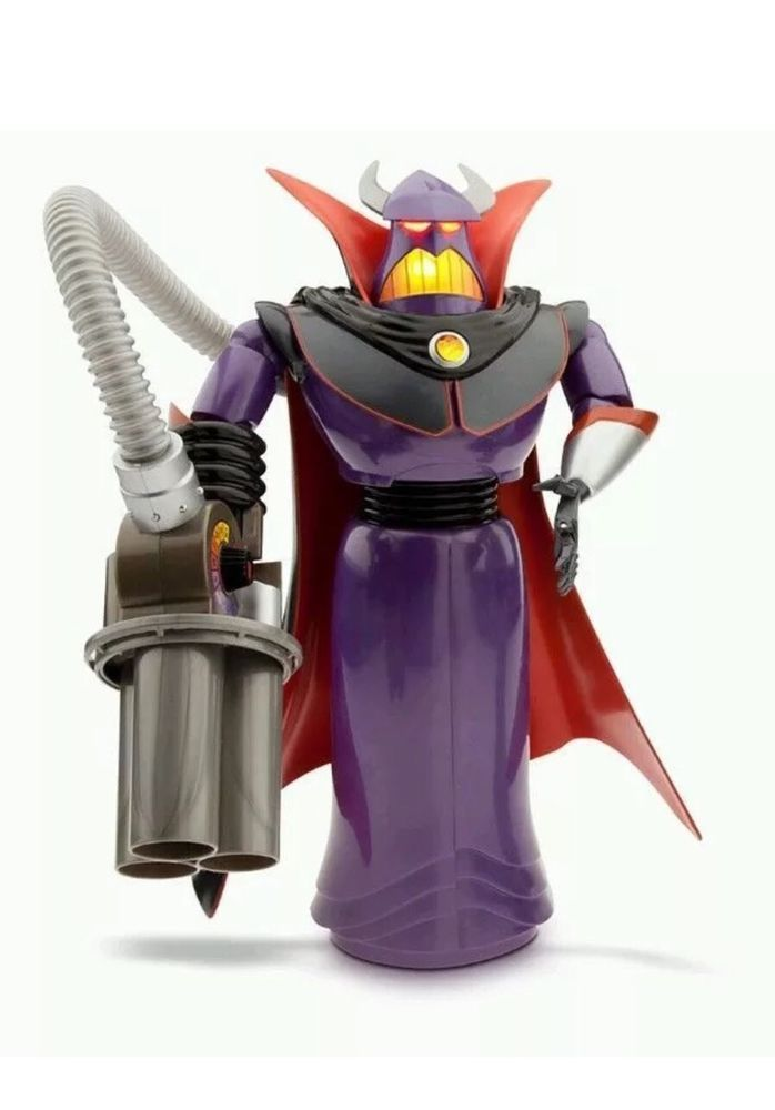 Toy Story Emperor Zurg Talking Action Figure 15'' 14 Phrases Disney Store  | eBay