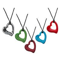 Miller heart Pendants, easy for babies to hold, look fab on mums too! love these colours