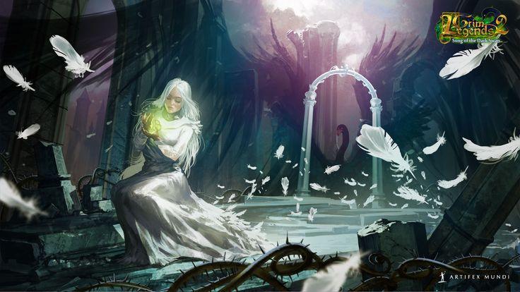 Grim Legends 2: Song of the Dark Swan 1920x1080 #wallpaper