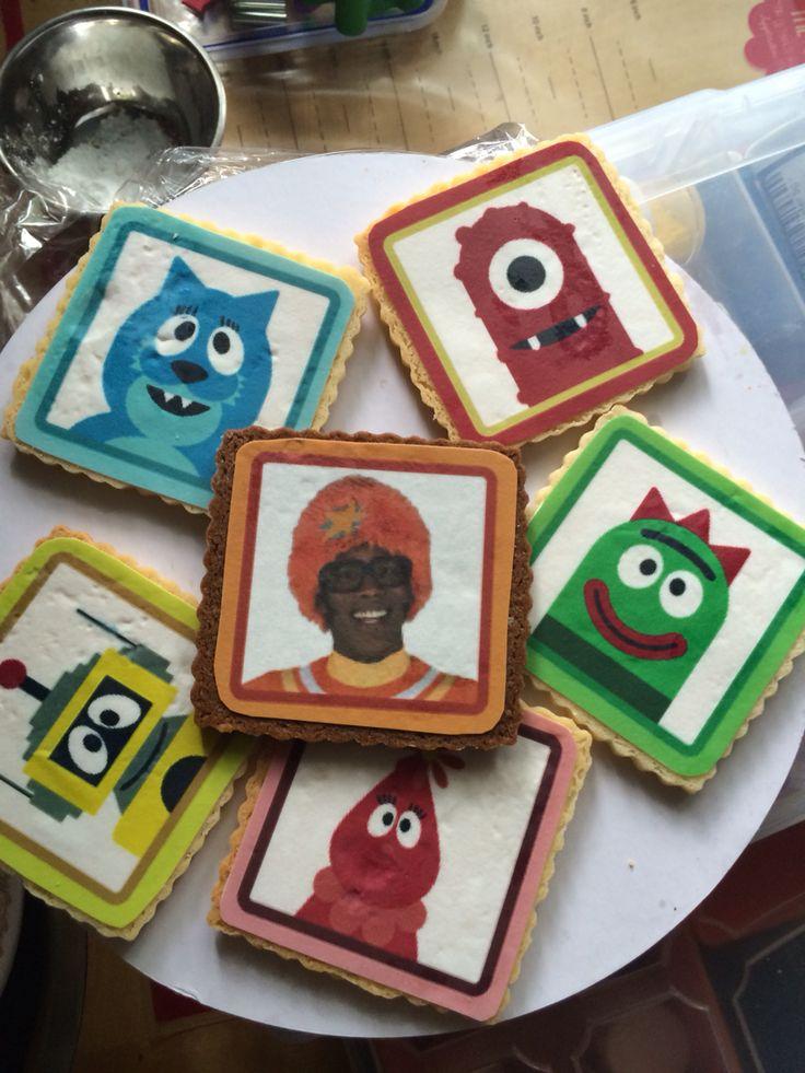 To gabba gabba Sugar cookies