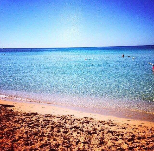 Quiet beach Lido Marini