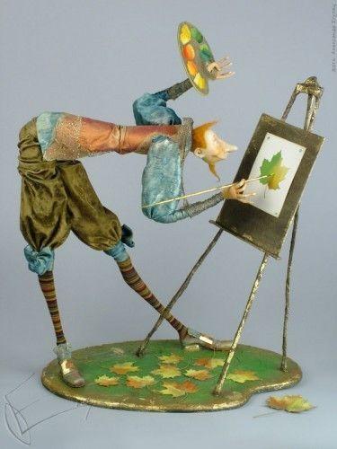 Картинки по запросу Авторские куклы Ольги Егупец.