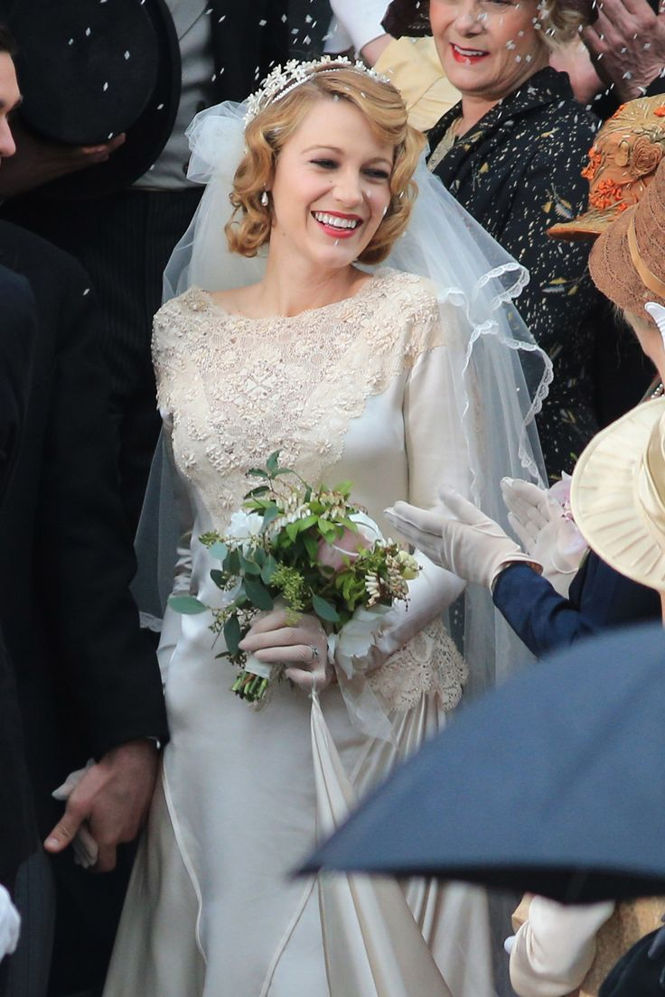 In Photos 32 Iconic Movie Wedding Gowns Blake lively