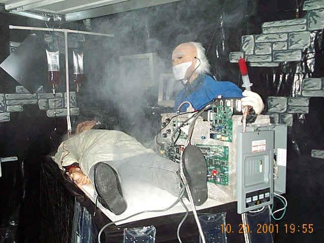 the operating room haunted halloweenhalloween - Haunted Halloween Decorations