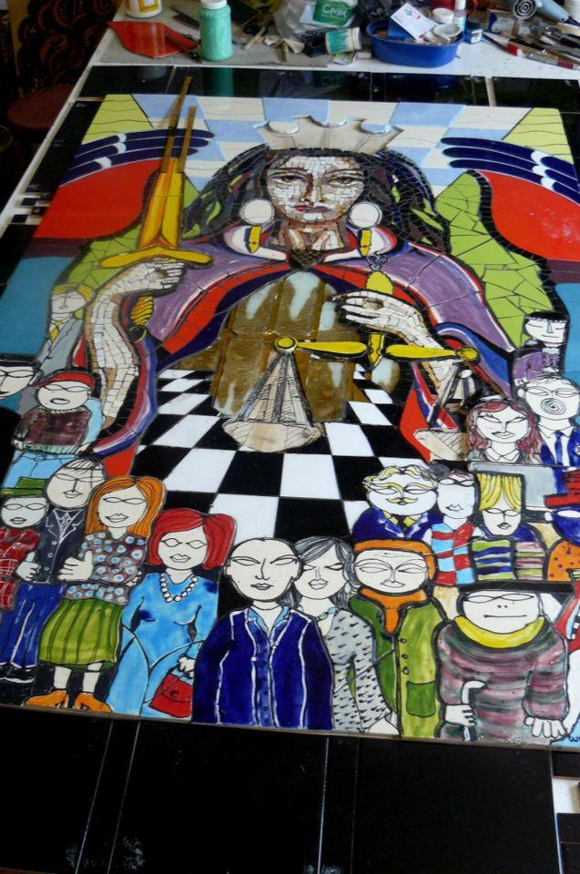 LA DIOSA DE LA JUSTICIA PASCAL MARTINEZ www.pascalarte.cl