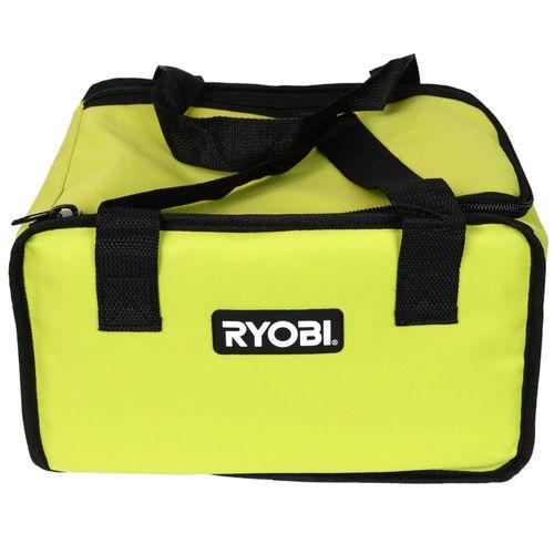 "Ryobi 12"""" Green Tool Bag for Ryobi Cordless Tools and Accessories"
