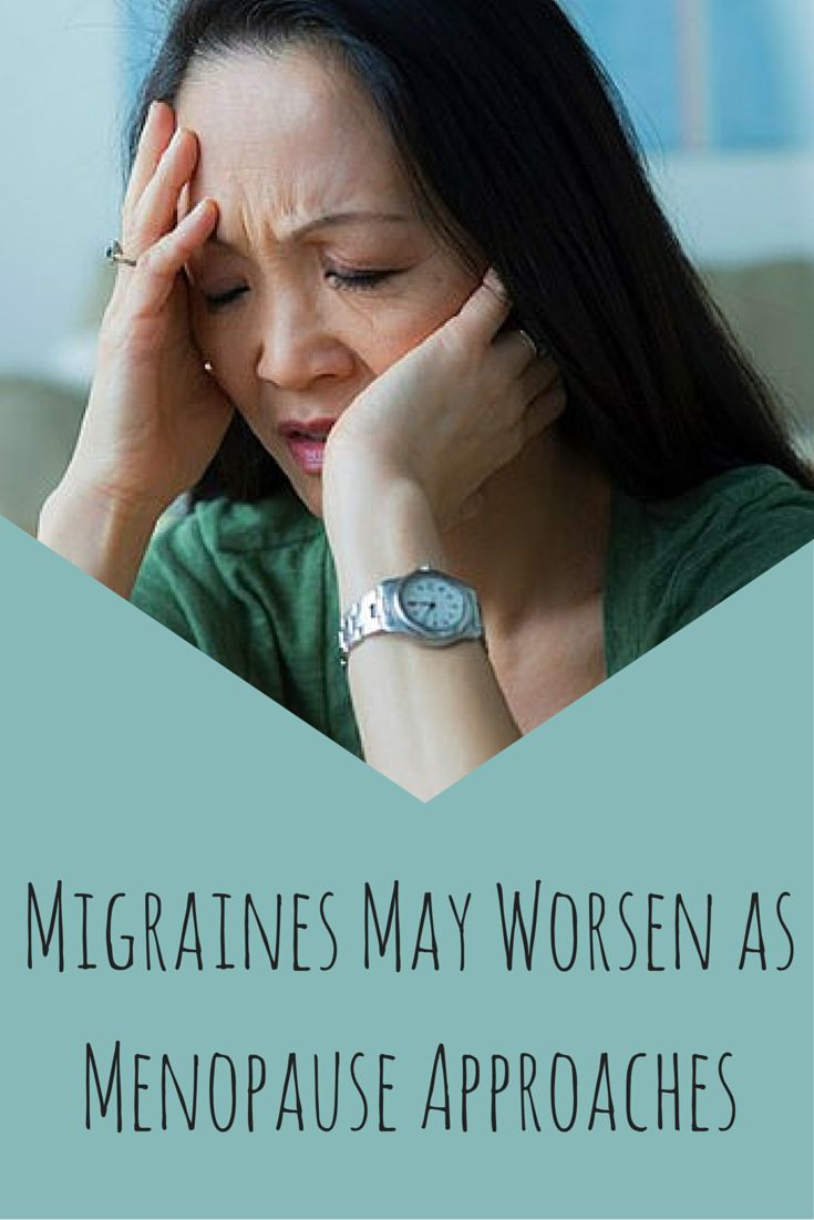 The risk of migraine was highest during the later stage of perimenopause, when women have low levels of estrogen, the study found. #migranes #menopause #painrelief #seniorhealth #womenshealth #headacherelief #everydayhealth | everydayhealth.com