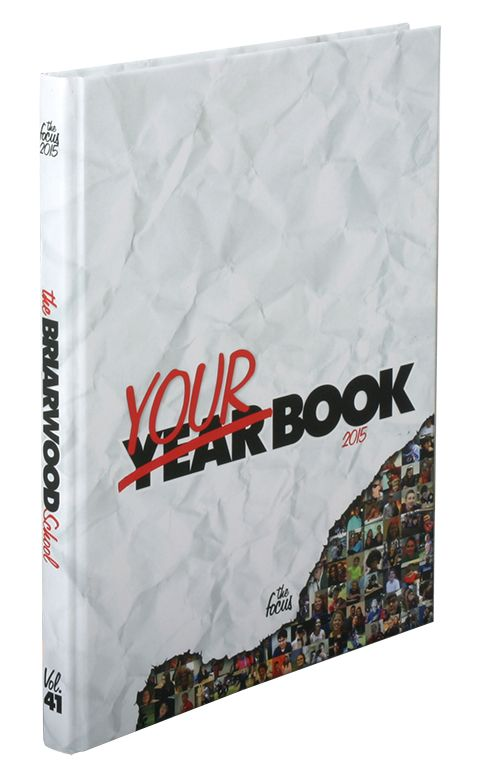 Cool Cover Creative Yearbook