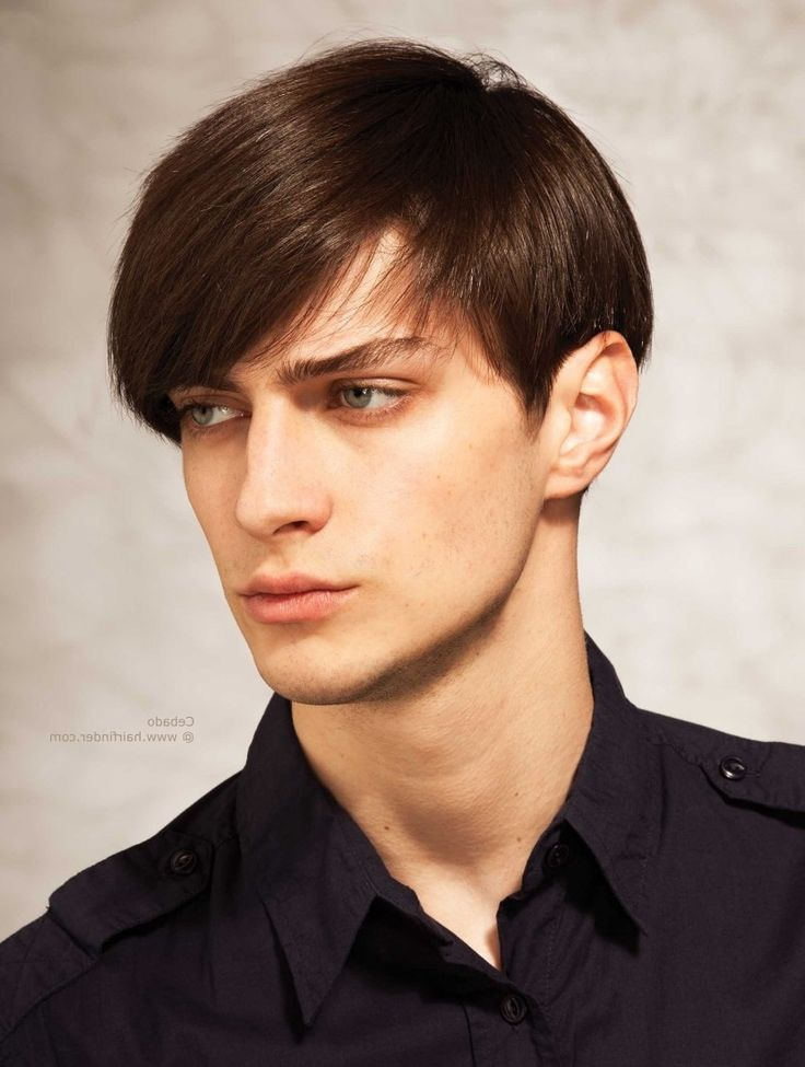 Long Hairstyles With Bangs For Men Long Fringe Hairstyle For Men With Thick Hair