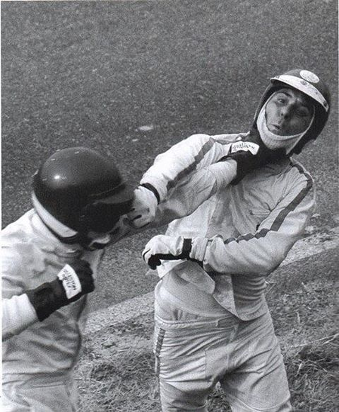 Tino Brambilla vs. Claudio Francisici It's not all battles on track in Motorsport #PetroCamp