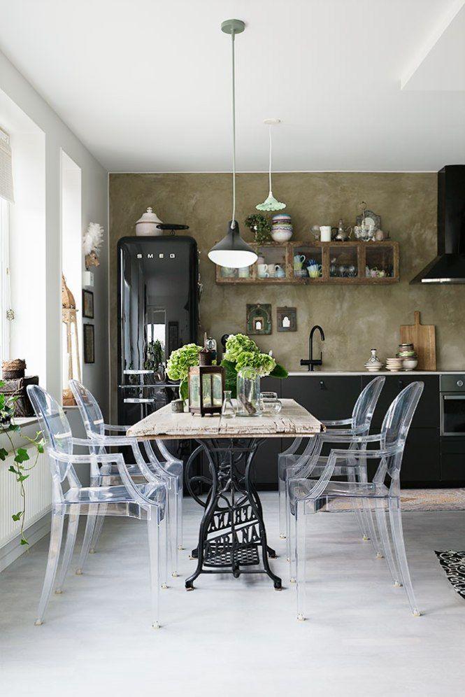 Indische Textilien schwedische Dekoration Boden Glaswände im nordischen Stil Dekor Kissen kleine Räume
