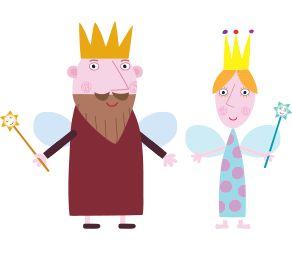 El pequeño reino de Ben y Holly para imprimir , los personajes de esta serie de dibujos infantil en la que Holly es una pequeña princesa y ...