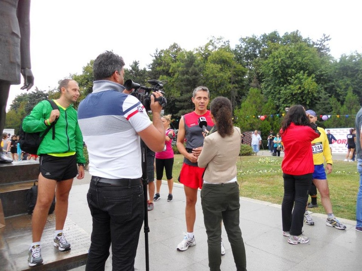 Interviu la We Run Bucharest 2012, organizat de Nike