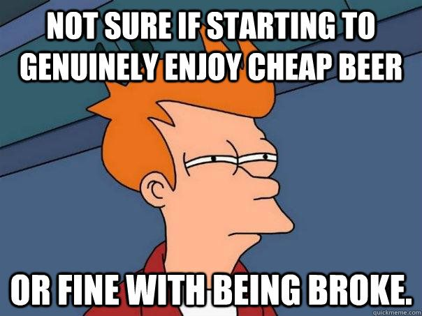 Funny memes about being broke