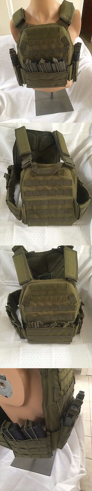 Chest Rigs and Tactical Vests 177891: Trident Tactical Solutions Plate Carrier Od Ranger Green -> BUY IT NOW ONLY: $120 on eBay!