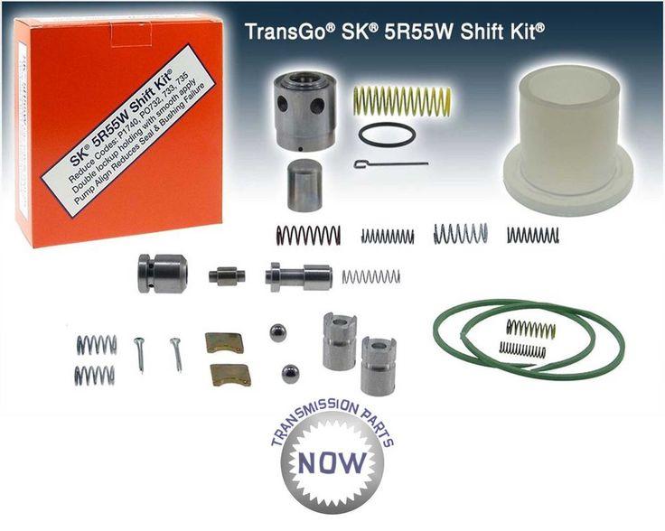 Ford Lincoln SK 5R55W 5R55S 5R55N Shift Kit Transgo 99-10 Mercury 46165T   #TransGo