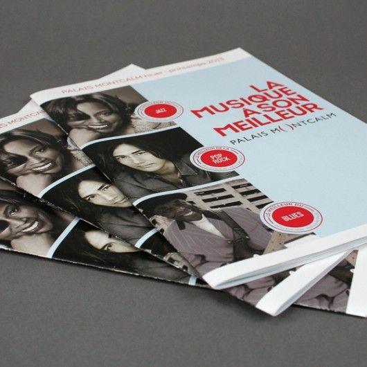 Palais Montcalm / Brochure / Beez Créativité Média