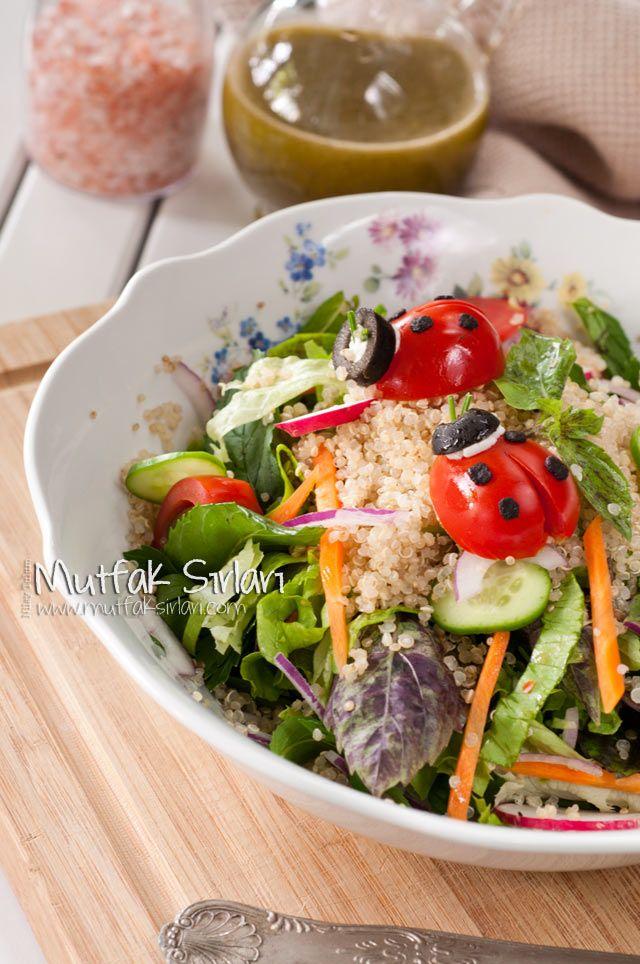 Kinoa Salatası nasıl yapılır ? Tarifin püf noktaları, binlerce yemek tarifi ve daha fazlası...