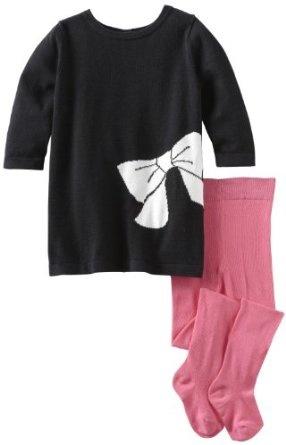 Pusat Baju Pesta Bayi - Isaac Mizrahi Bayi-Bayi Perempuan Sweater Ribbon Knit Dan Bow Dress Dengan Ketat   Pusat Baju Bayi Terbesar dan Terlengkap Se indonesia