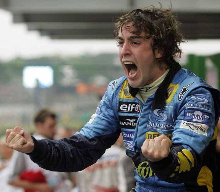 Fernando Alonso campeón del mundo en 2005