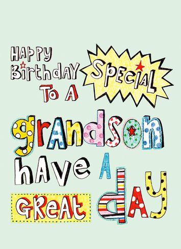 happy birthday grandson - Google Search