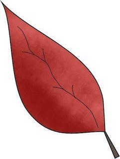 dibujos de hojas de otono