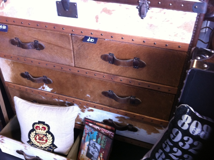 Cows Hide Chest of Drawers - this will be mine!