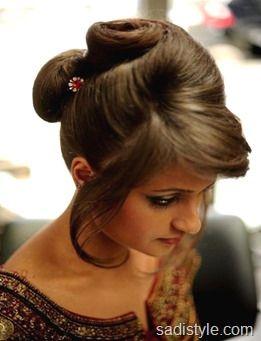 Pakistani hair style girls 2016