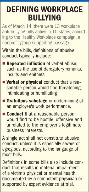 Workplace Bullying | ... Employers Should Do About Workplace Bullying | PropertyCasualty360