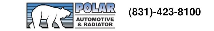 Other times we use it all: Polar Bear as the logo, Automotive and Radiator for repair services & can't forget the phone number
