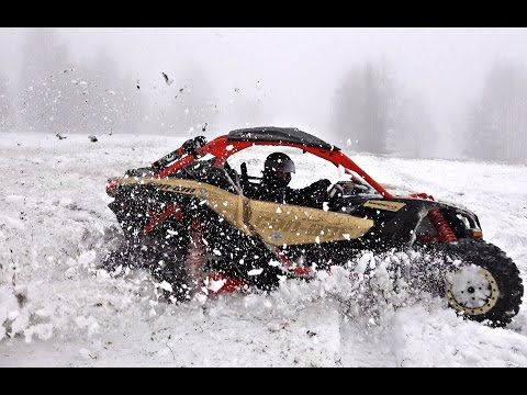 Wanan see how BRP CanAm Maverick X3 XRS drives? IN the snow??? check our YouTube channel https://www.youtube.com/channel/UCo9b2nzvV-jzh6JreTLQDfQ
