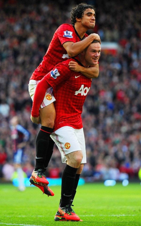 Love to see this pic, Roo and Rafael #GGMU #MUFC