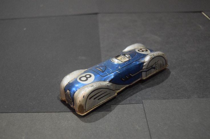 A vintage tin plate Glam Toys Product 1950s race car GTP 522 | eBay