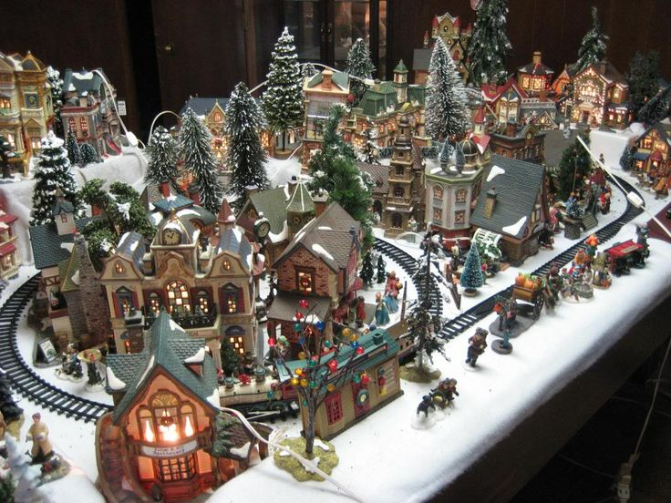 76 best christmas villages images on Pinterest | Christmas ...