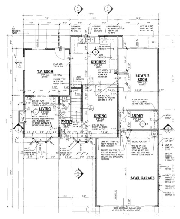 Layout of the simpsons house