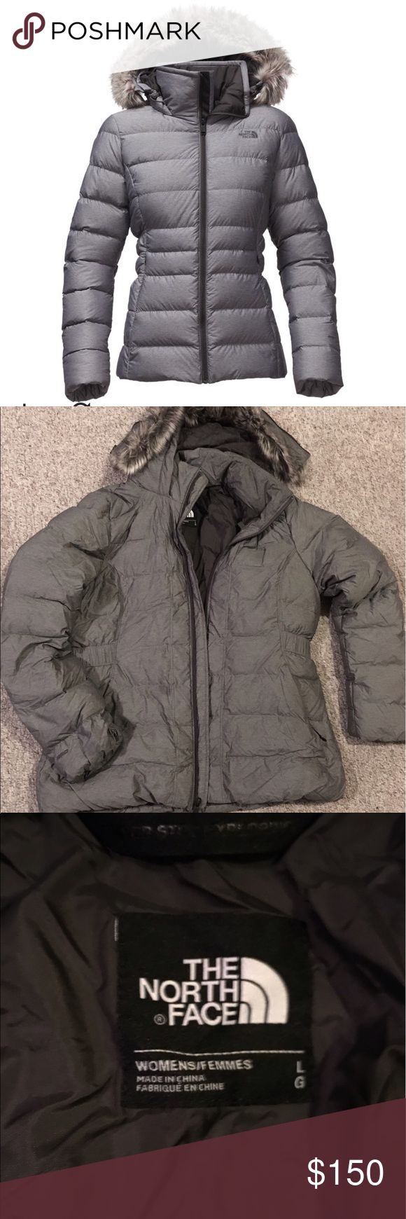 The NorthFace Gotham Jacket Size L- worn a total of 3 times. One slight unnoticeable discoloration in photo. Make an offer. Currently selling online for $230 The North Face Jackets & Coats Puffers