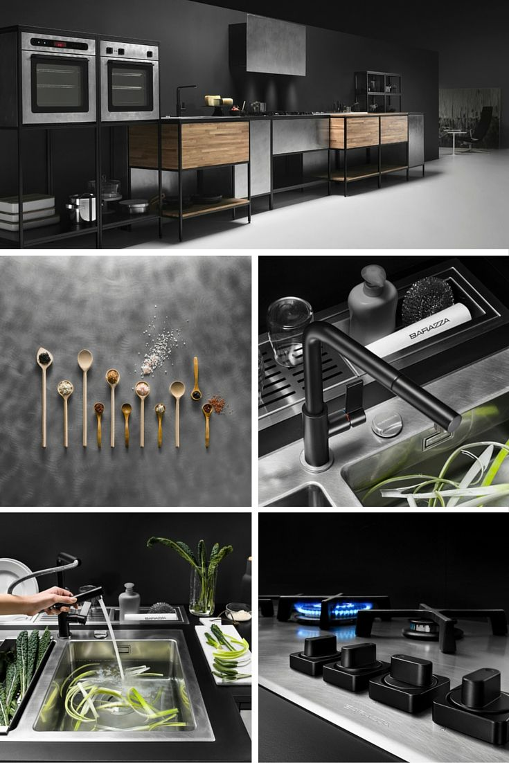 New project UNIQUE for Barazza by Varianti.it #kitchen #stilllife #styling #industrialphotography #treviso #appliances #water #interiors #decor